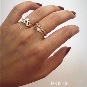 14k Love Ring